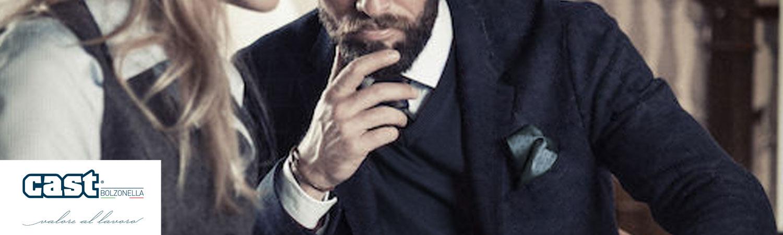 Cappotti eleganti da uomo e donna per divisa da lavoro